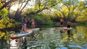 quail creek reservoir paddle boarding