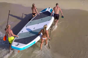 8 person paddle board rental